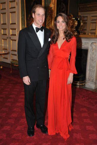 Beulah Dress St. James Palace London 2011. WPA Pool/Getty