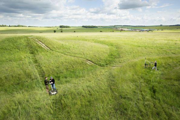 stonehenge, Hidden Landscapes Project
