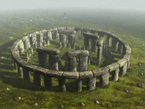 Stonehenge as it first looked