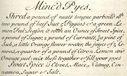 16th century recipe