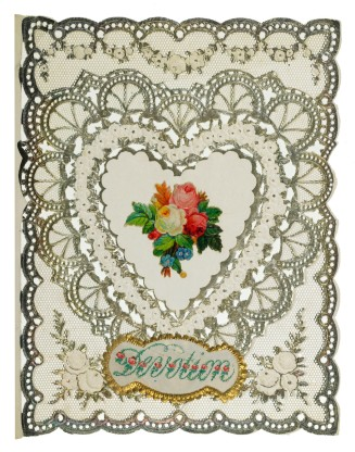 Valentine Card 1870