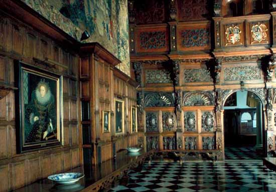The Banqueting Hall- The Old Palace at Hatfield House