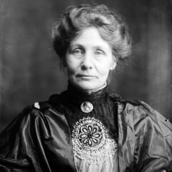 Suffrage leader Emmeline Pankhurst, who led the movement to win the vote for women in Great Britain (Getty Images