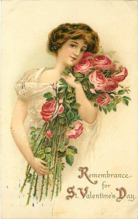 Victorian Valentines Cards.
