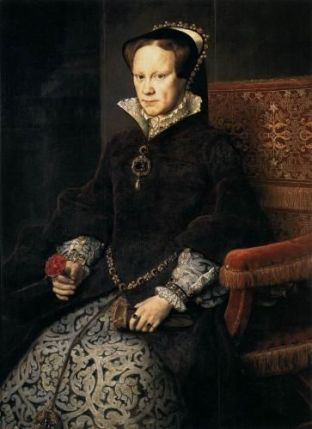 Royal Portrait of Queen Mary I of England (Bloody Mary)