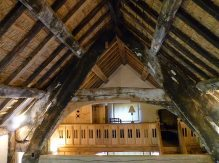 Blackened Timbers Hacton Cruck Restored Medieval Hall, Preston-on-Wye