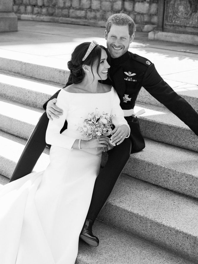 Meghan and Harry Wedding Photo
