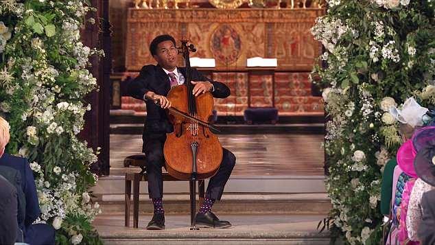 Sheku at the Royal Wedding