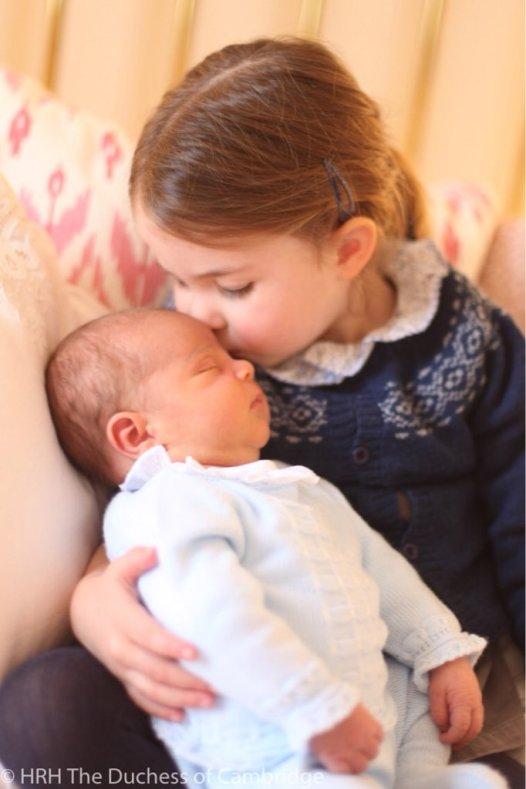 Princess Charlotte & Prince Louis,