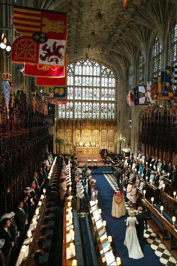 Marriage of Prince Charles and the Duchess of Cornwall- Camilla  2005