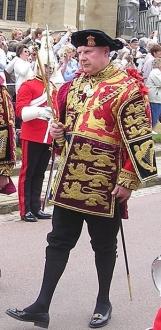 Garter King of Arms Thomas Woodcock,