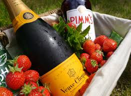 Pimm's & Champagne. image Frost Magazine