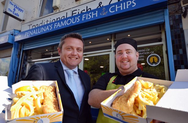 Penaluna's Famous Fish & Chips in Aberdare