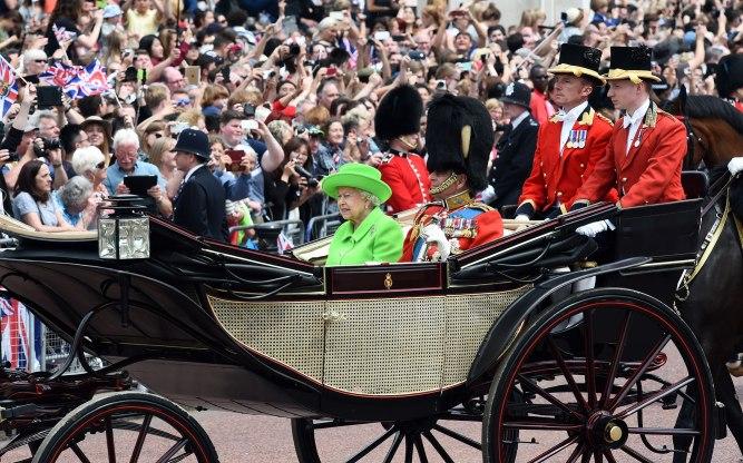 queen-elizabeth1 90th birthday celebration in 2016.