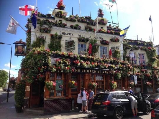 The Churchill Arms- London