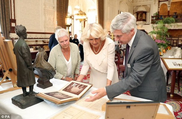 Judy Dench patron of the Friends of Osborne House