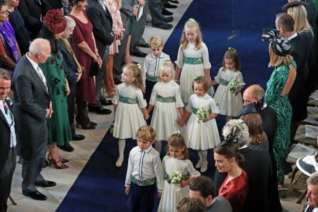 Bridesmaids and Pageboys, also included Prince George